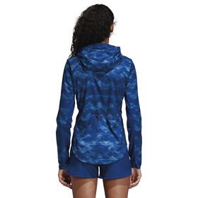 adidas Adizero Track Jacket Women Raw Grey/Mystery Ink